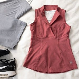 Champion Sleeveless Dusty Rose Athletic Top - S
